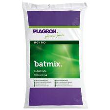 50 L Plagron BatMix Bio Pflanzerde mit Perlite Bat-Mix Grow Erde +Flyer