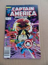 Captain America  288. Deathlock App . Marvel 1983 -   VF  - minus
