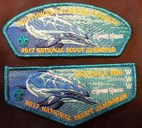 OSCEOLA OA 564 SOUTHWEST FLORIDA 2017 JAMBOREE THOMAS KRAUSE DELEGATE FLAP SET