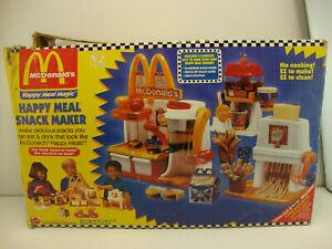 1993 Mattel McDonald's Happy Meal Magic Play Set - Not Complete Parts Or Repair