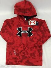 Under Armour Boys Sweater Hoodie Red Size Youth XS YXS