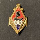Original Drago French Badge 22nd Regiment Of Infantry Of Marines Colonial