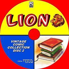 Grand Collection de classique vintage Lion Comics & annuelles années 1960/70s