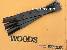 """Set/3 blades for Woods RD60 & RD6000 60"""" finishing grooming mowers *5WP1001513X"""