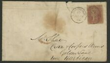 Great Britain Stamp Scott #20 on 1860 Cover, single franking,
