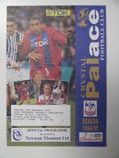 More details for crystal palace v watford | 1994/1995 | reserves | 15 nov 1994 | uk freepost