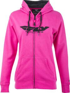 Fly Racing Women's Corporate Zip Up Hoodie Sweatshirt