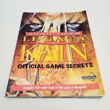 Vintage 1996 Crystal Dynamics Blood Omen: Legacy of Kain Official Game Secrets