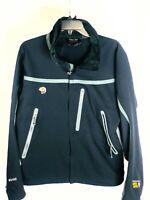 Mountain Hardwear Mens Black Windbreaker Jacket - Soft shell Conduit Size M