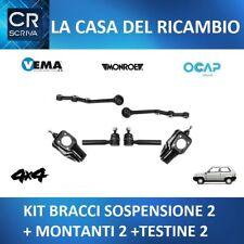 KIT BRACCIO INFERIORE CON TESTINE STERZO ANTERIORE FIAT PANDA 141 4X4 1986-/>