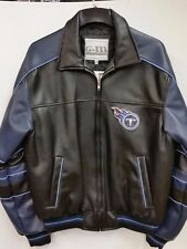 NFL Tennessee Titans Faux Leather Jacket (XX-Large)