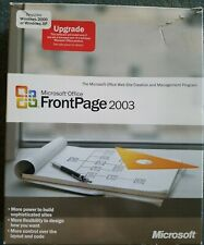Microsoft Office FrontPage 2003 Upgrade Software CD for Windows