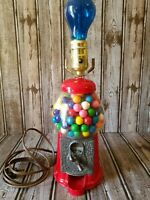 Rare Vintage Carousel Gumball Machine Table Lamp Game Room