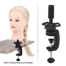 Hairdressing Training Mannequin Head Tripod Stand Wig Holder Barber New K6G6
