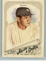 2018 Topps Allen and Ginter Baseball - Pick A Player - Cards 1-150