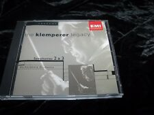 The Klemperer Legacy BRAHMS Symphonies 2 & 3 Philharmonia Orchestra  CD