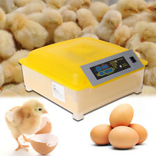 Huevos de incubación de Hatcher 48 Control Digital Auto Turner Para Pollo Pato Gallina De Huevos