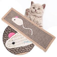Cat Kitten Scratch Board Pad Scratcher Pet Cat Soft Bed Mat Claws Care Toys #S2