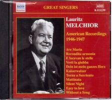 Lauritz Melchior: American Recordings 1946 - 1947 - CD