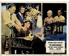 Cinema Lobby Card: FIVE GOLDEN DRAGONS 1967 (UK Dead In Chair)