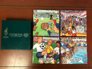 The United States Olympic Coins Of The Atlanta 1996 Centennial Olympic Games