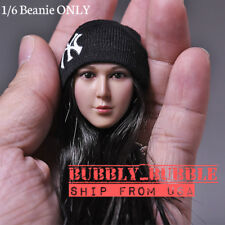 "1/6 Scale Knit Beanie Hat For 12"" Phicen Hot Toys Figure SHIP FROM USA"