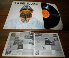 VA - La Resistance Double LP Le Chant Du Monde W/Livret Poetry Folk Song