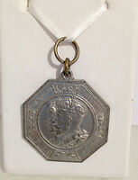 King George V Queen Mary Jubilee Medallion 1935 County of Middlesex