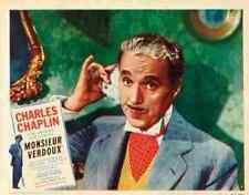 Monsieur Verdoux 14 comprimidos A3 cartel impresión