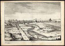 Antique Print-ROME-ROMA-ITALY-VIEW-Halma-1705