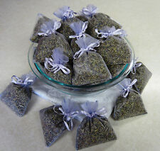 Set of 100 Lavender Sachets made with Lavender Organza Bags