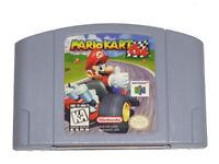 Mario Kart Nintendo 64 N64 Authentic Video Game Cart OEM Retro SUPER FAST SHIP!