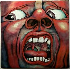 "KING CRIMSON ""In The Court of the Crimson King"" Rare RCOA LP 1969 SD-8245 VG++"