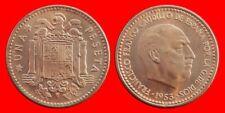 1 PESETA FRANCO 1953-56 SIN CIRCULAR ESPAÑA