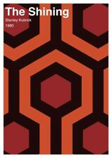 The Shining alternative movie poster - graphic design giclée print size A3