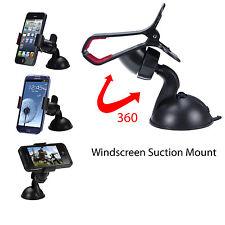 Support Téléphone Voiture Universel Auto Ventouse Pare Brise iPhone Samsung GPS