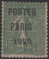 """FRANCE STAMP TIMBRE PREOBLITERE 25 """" SEMEUSE POSTES PARIS 1920 """" NEUF xx TB J361"""