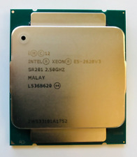 Intel Xeon E5-2628 V3 2.50GHz 8-Core LGA 2011-3 20MB 9.6GT/s SR201 CPU X99 DDR4