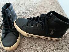 Ralph Lauren Boys High Top Sneakers Size 3