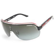 Carrera Topcar 1 KB0-PT Black & Red/Grey Gradient Lens Unisex Shield Sunglasses