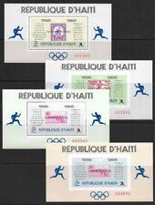 Haiti 1969 Sports Olympic Marathon Winners Sheets Set #616 VF-NH