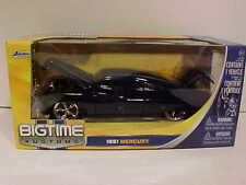 1951 Ford Mercury Low Rider Coupe Diecast Car 1:24 Jada Toys 8 inch Black Rims