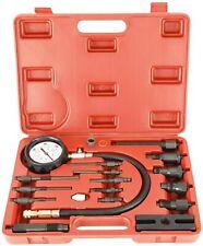 Diesel Engine Cylinder Compression Tester Tool Kit 0-1000 PSI Direct & Indirect