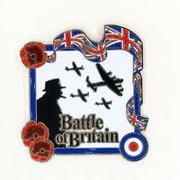 UK STOCK Battle of Britain World War Hero Purple Poppy Enamel Pin Badge Brooch