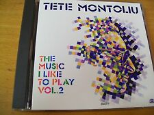 TETE MONTOLIU THE MUSIC I LIKE TO PLAY VOL 2  CD MINT-