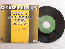 "45T 7"" ESTHER PHILLIPS ""What a diff'rence a day makes"" CTI RECORDS 42527 µ"