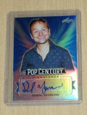 2019 Leaf Pop Century Metal autograph auto card BLUE Daniel Negreanu poker 4/10
