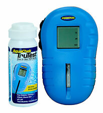 AquaChek 2510400 Trutest Digital Swimming Pool Chemical Test Strip Reader-25 Ct