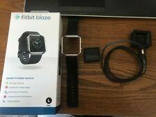 Fitbit Blaze SmartFitness Watch - Black comes with Free Tan band.