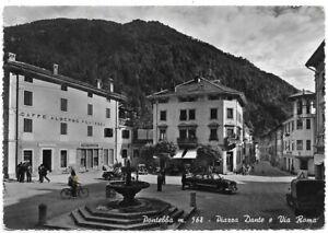 Pontebba (Udine). Piazza Dante e Via Roma - Auto, Car. Voitures.